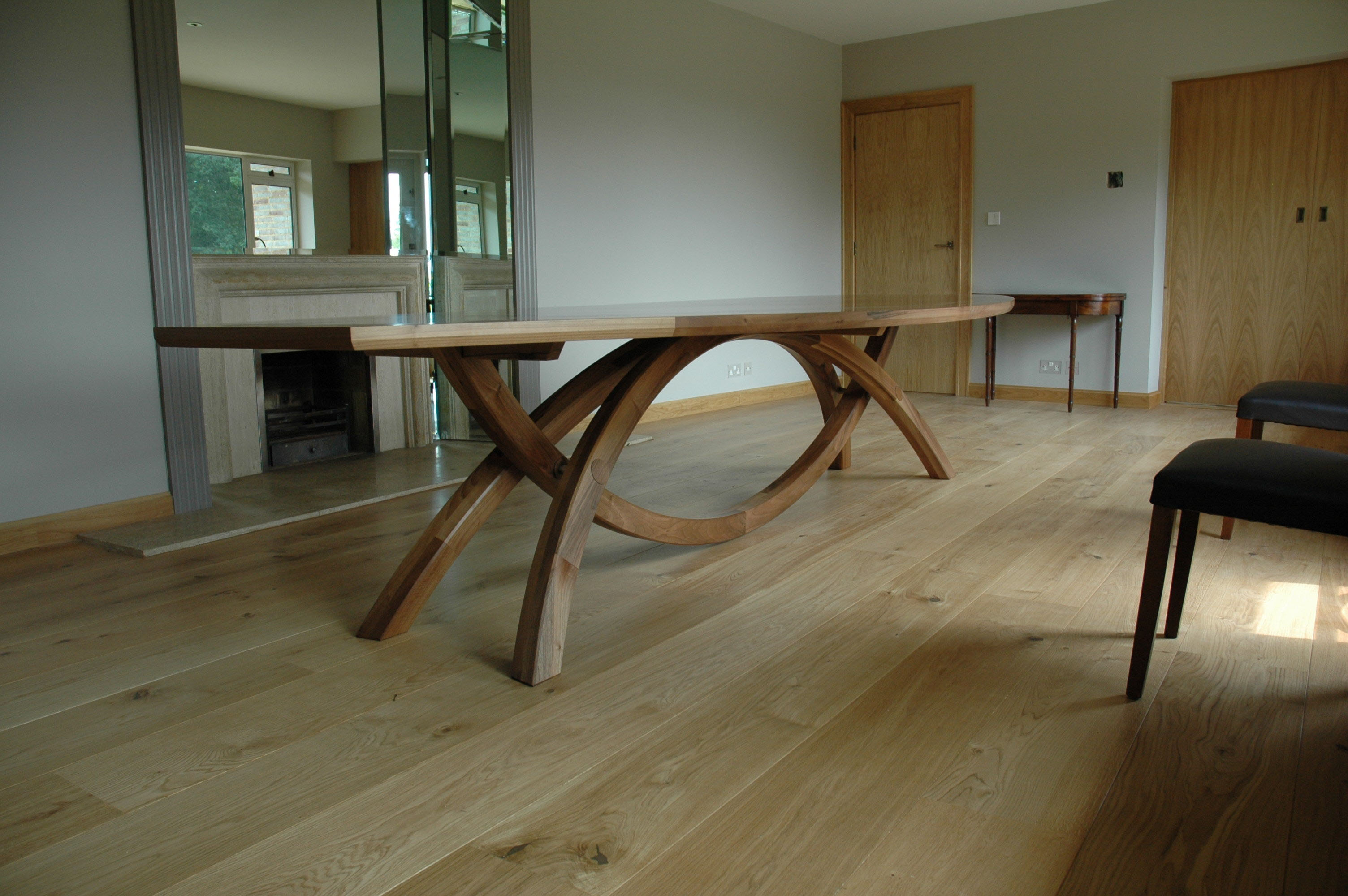 Burrows Wood Dining Table Diary Of A Fine Furniture Maker
